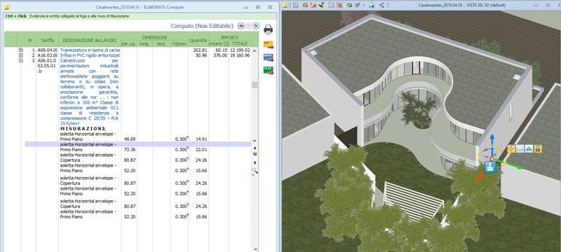 BIM 5D Estimation des coûts | Edificius | ACCA software