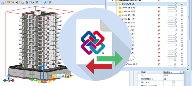 Import/Export in IFC format for sharing on collaborative platforms | Edificius | ACCA software