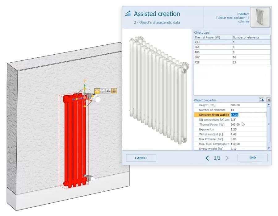 Create infinite BIM objects | Edificius MEP | ACCA software