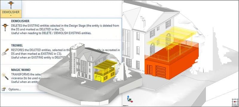 Pranchas gráficas para comparação | Edificius | ACCA software