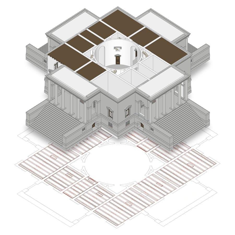 Wooden floor decks | Edificius | ACCA software