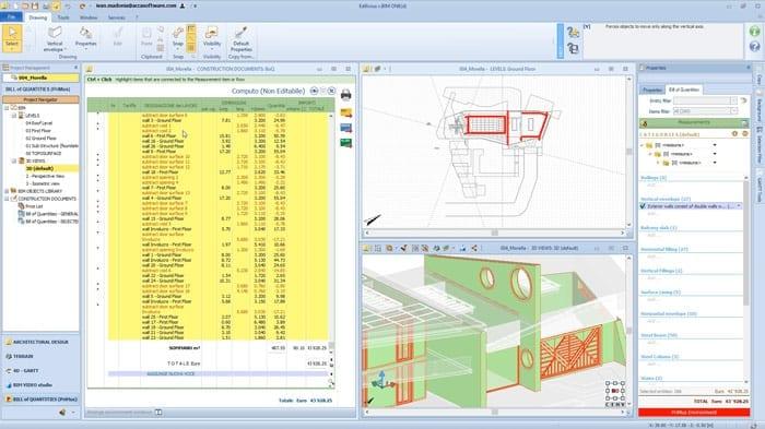 Video 5D-BIM Aufmaß | Edificius | ACCA software