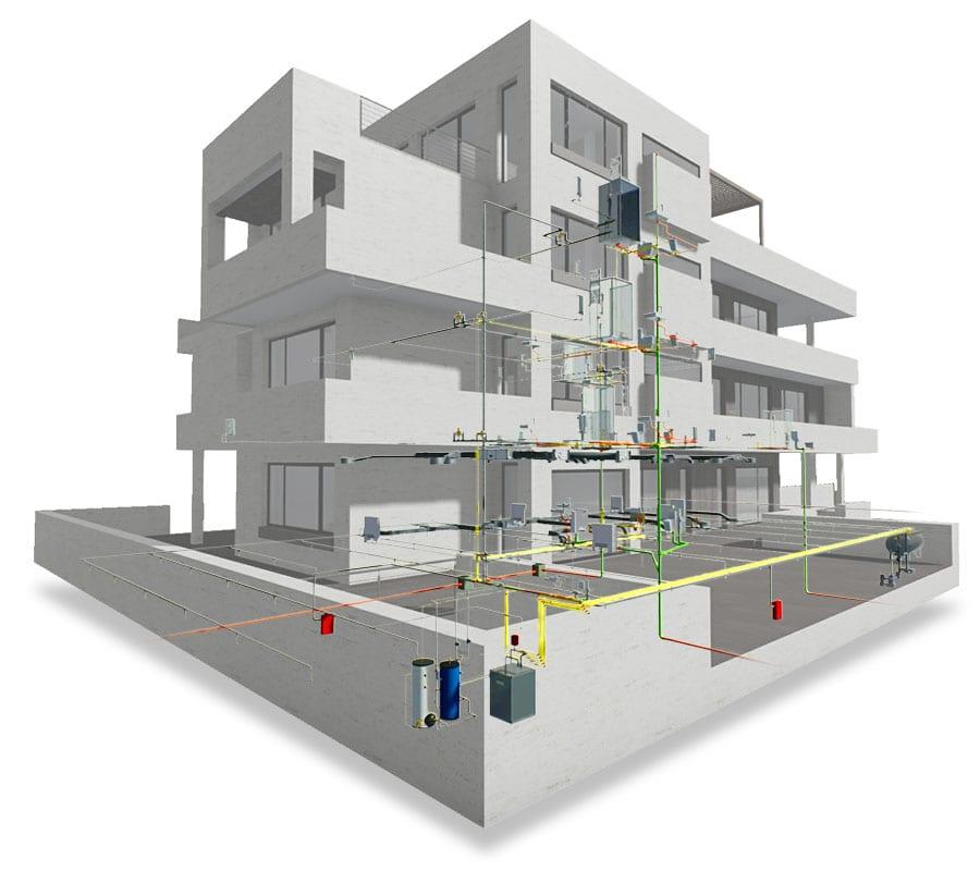 Conception d'installations (MEP) | Edificius | ACCA Software