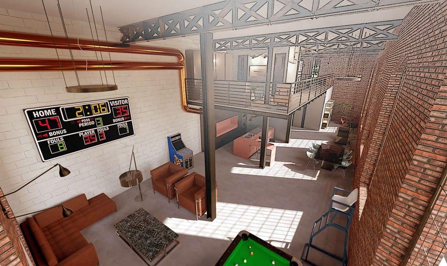 Render com filtro design de interiores | Edificius | ACCA software