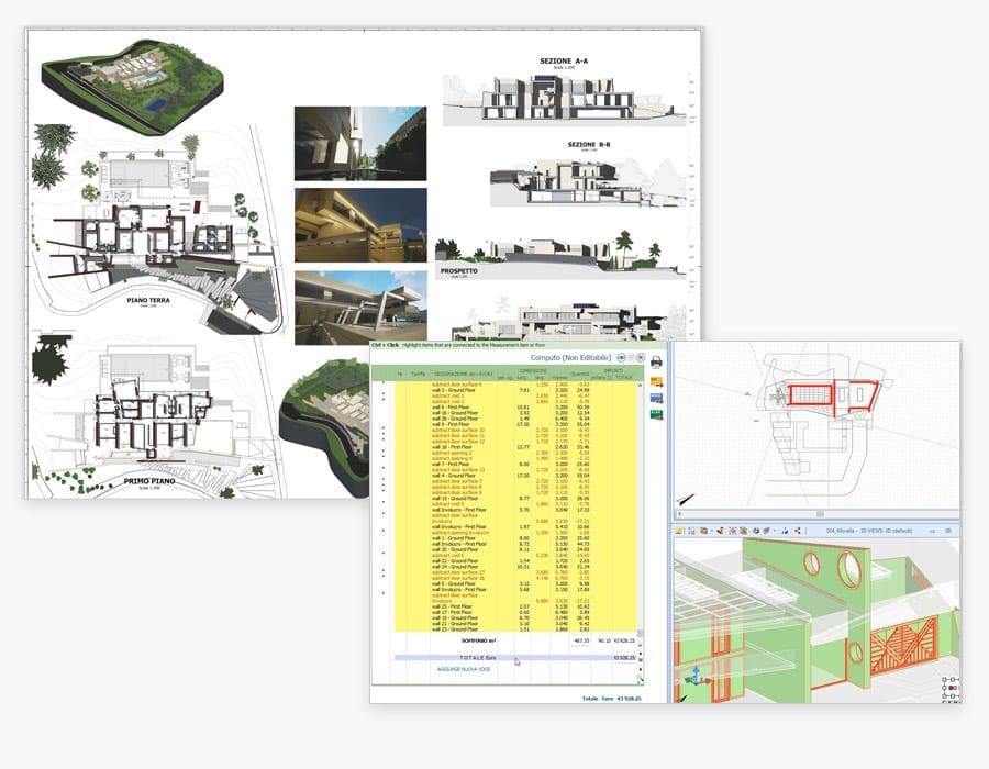 Documentação projeto automática | Edificius | ACCA software