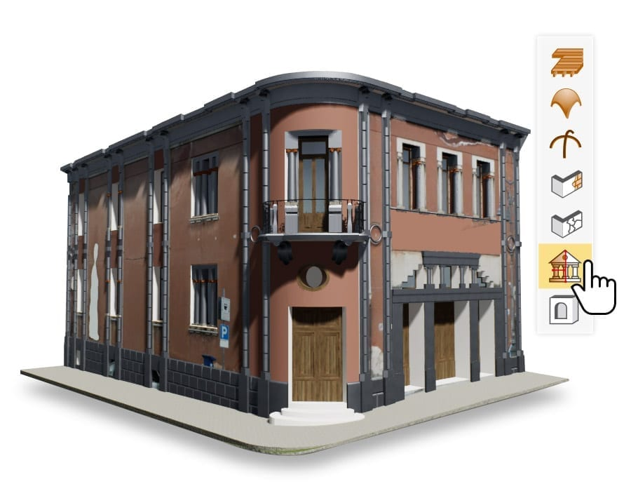 Modelling of historical buildings | Edificius | ACCA software