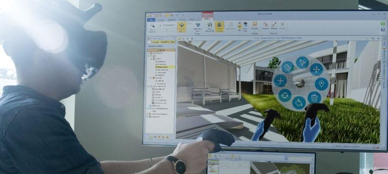 Réalité virtuelle immersive | Edificius | ACCA software