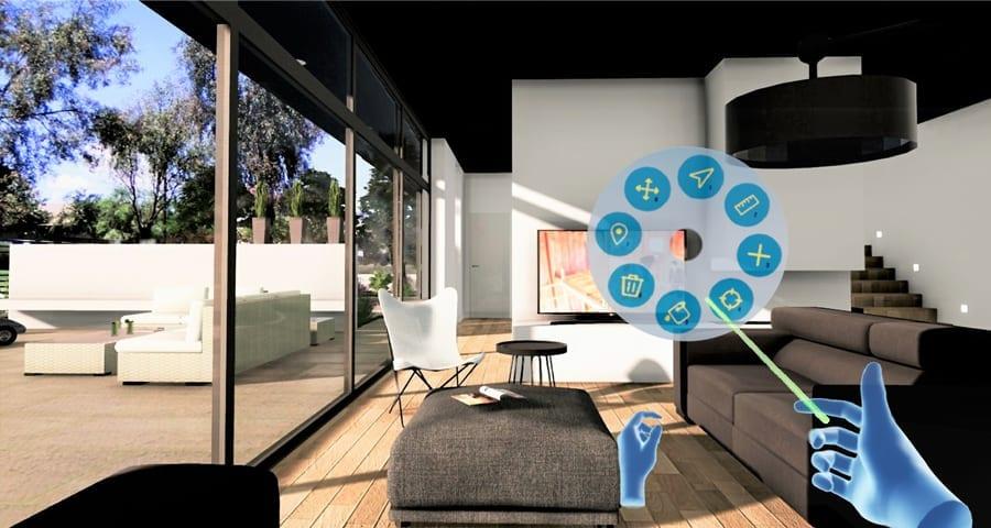 Sie ändern Echtzeit das BIM-Modell in dem sie es mit der immersiven Virtual-Reality-Umgebung navigieren | Edificius+VRiBIM | ACCA software