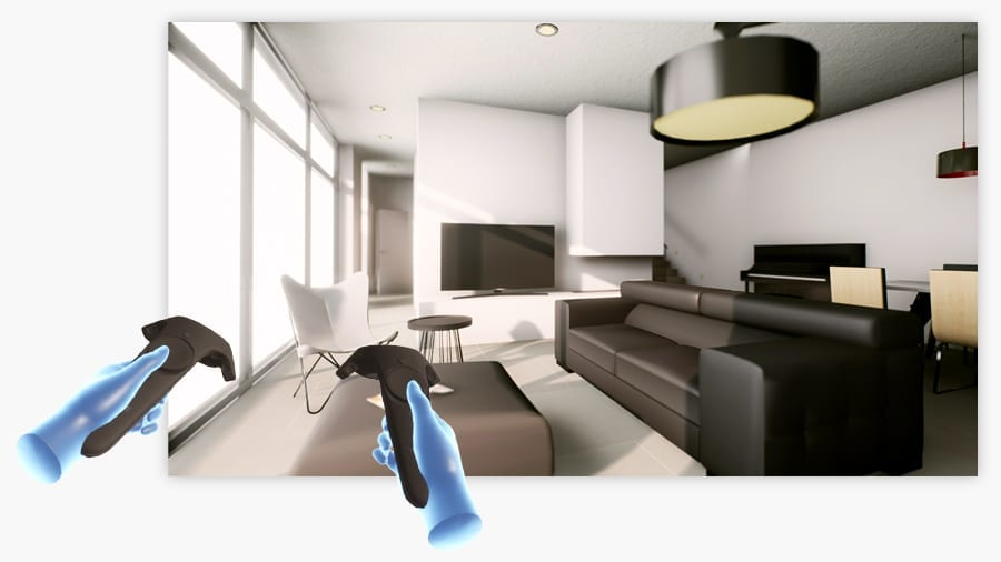 Immersive Virtual Reality for interior design | Edificius | ACCA software