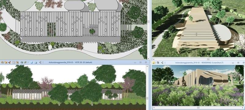 Landscape Design | Edificius | ACCA software