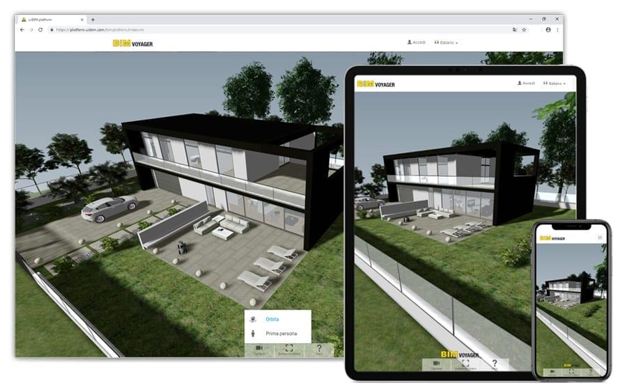Partager le projet en ligne | Edificius | ACCA software