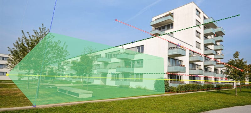 Scene photo-montage and photo editing | Edificius | ACCA software