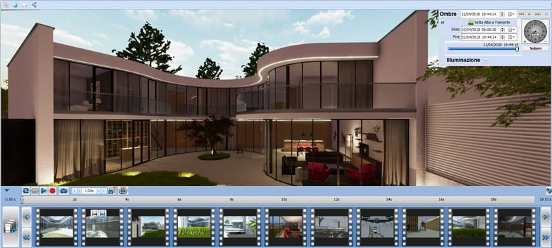 Real Time Rendering | Edificius | ACCA software