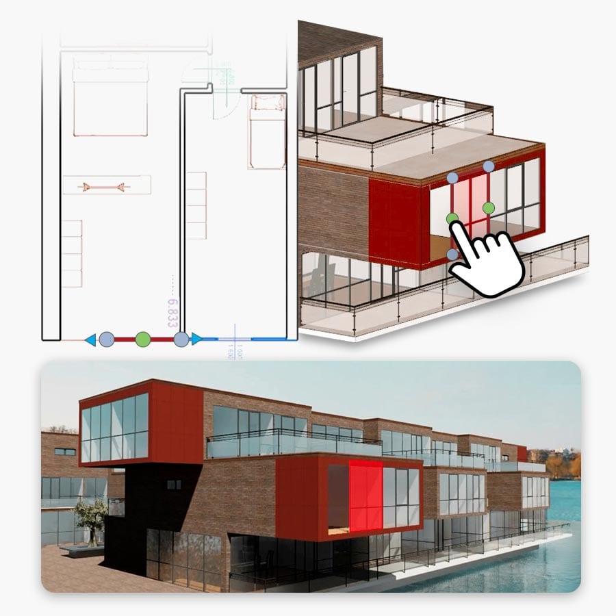 Real-Time rendering y diseño arquitectónico | Edificius+RTBIM | ACCA Software