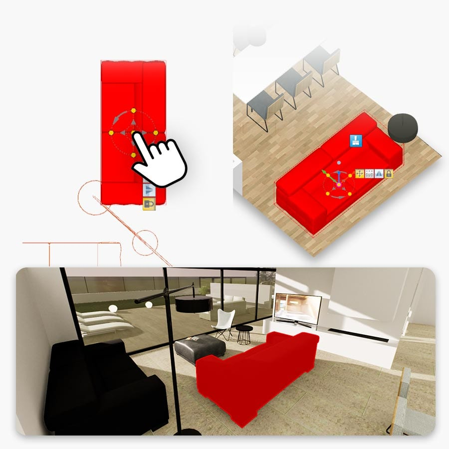 Real-Time rendering y diseño de interiores | Edificius+RTBIM | ACCA Software