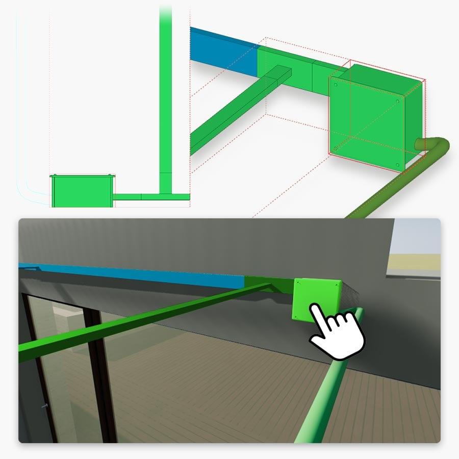Real-time rendering y modelado MEP | Edificius+RTBIM | ACCA Software