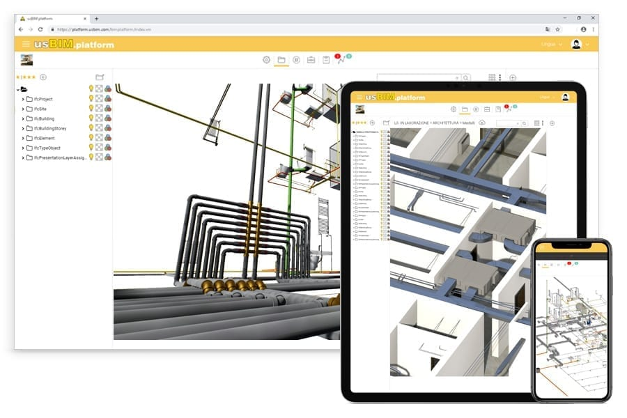 Share projects on the usBIM.platform | Edificius MEP | ACCA software
