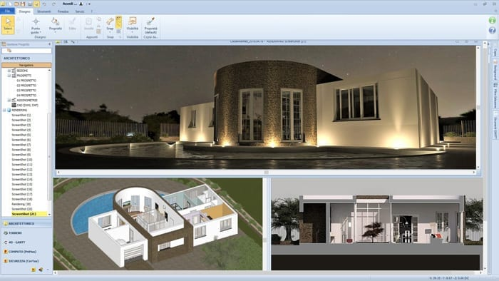 Architecture Design | Edificius | ACCA software