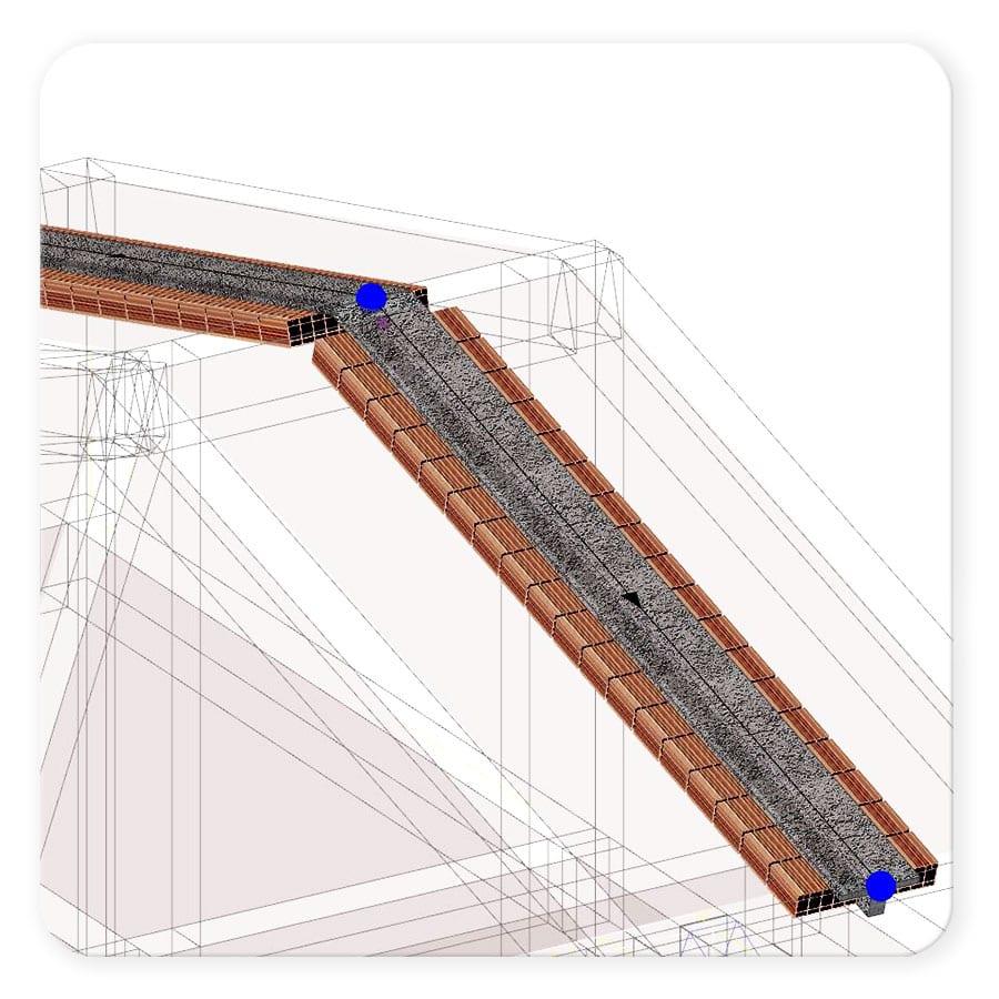 Diseño de forjados viguetas y bovedillas - EdiLus CONCRETE - ACCA software