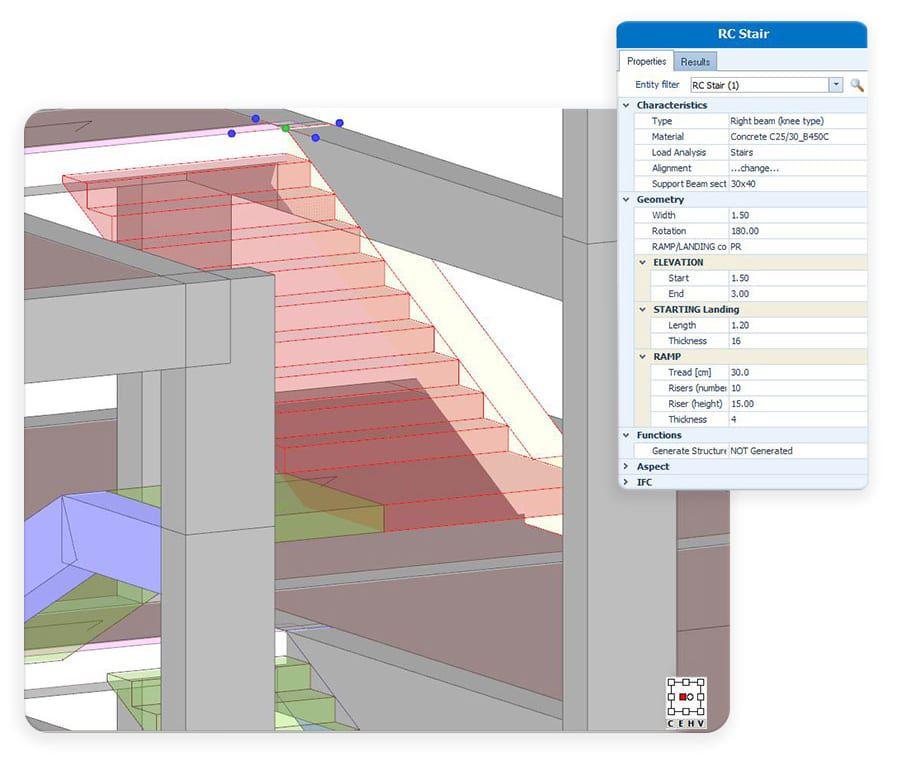 Modelado de la estructura en planta o en 3D - EdiLus CONCRETE - ACCA software