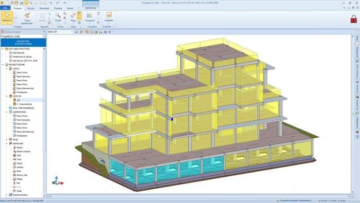 Video programa cálculo estructuras hormigón armado | EdiLus CONCRETE | ACCA software