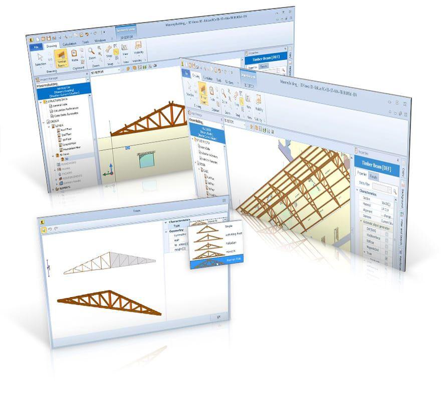 Impressions et exportation de documents de calcul, de fiches de comparaison, de plans d'exécution, de plans de coffrage ... - EdiLus MASONRY - ACCA software