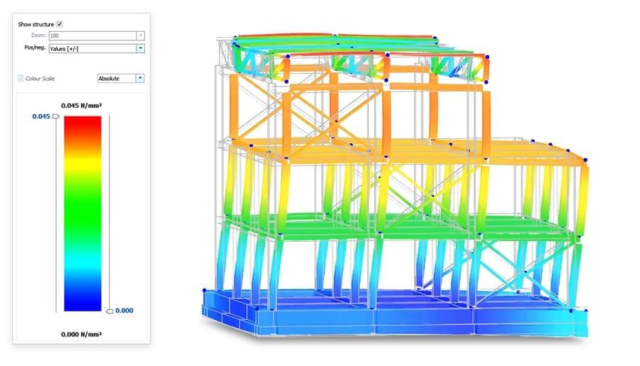 Diseño gráfico 3D de las conexiones - EdiLus STEEL - ACCA software