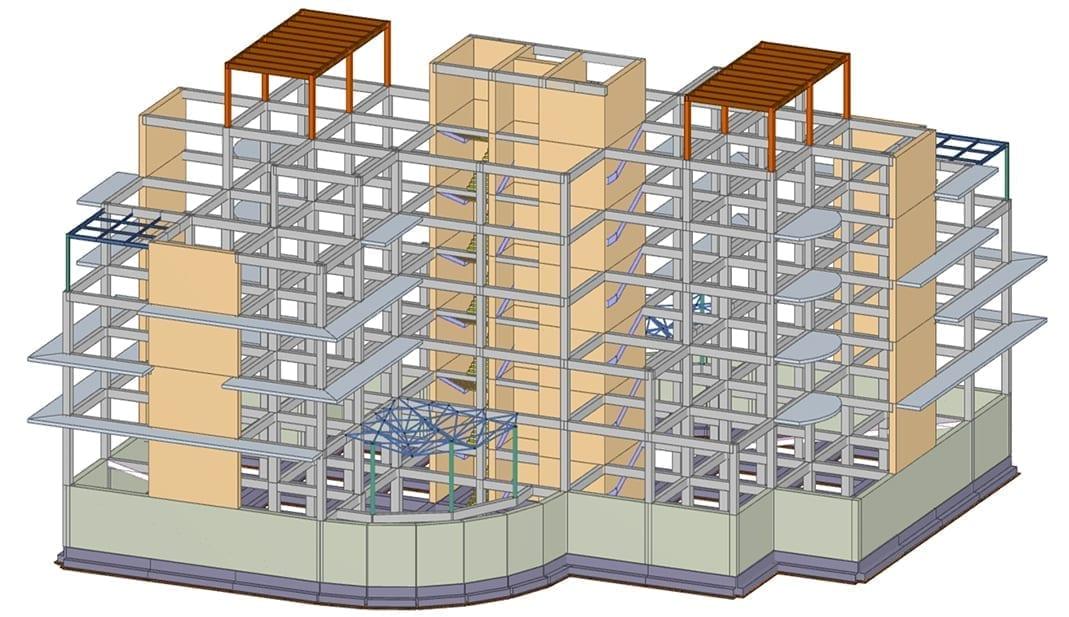 Pórtico en Hormigón Armado - Diseño estructural  | ACCA software