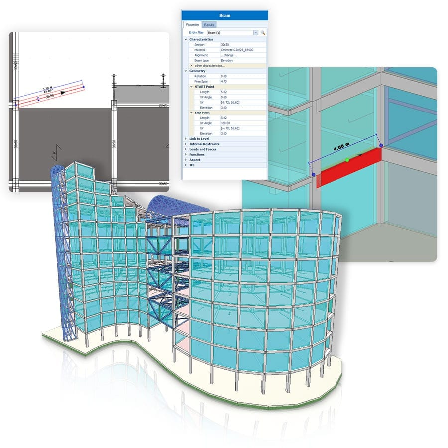 BIM modeling structure | ACCA Software