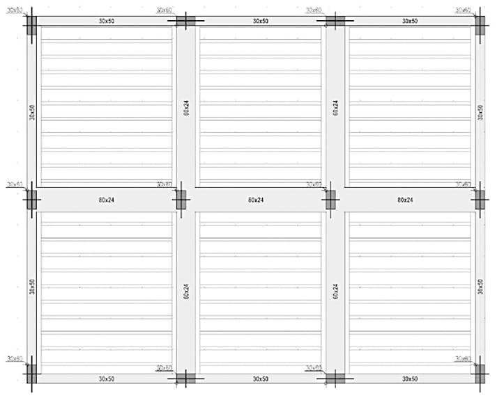 Ejemplo orientación no benéfico para las verificaciones estructurales - Diseño estructural  | ACCA software