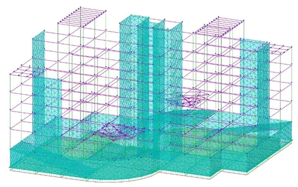 Modelo estructural - Diseño estructural | ACCA software