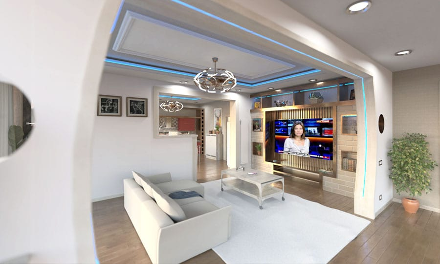 3D architectural rendering software | ACCA software