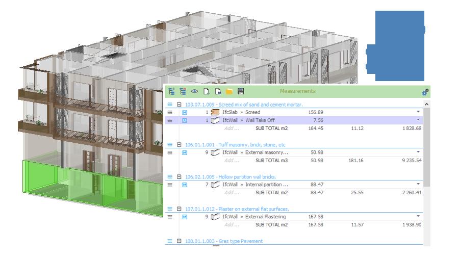 Obtenha automaticamente orçamento | PriMus IFC | ACCA software
