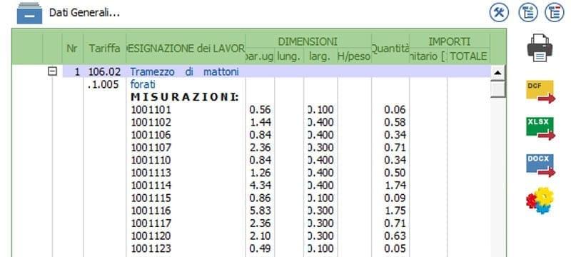 Exportação do orçamento para formatos padrões | PriMus IFC | ACCA software