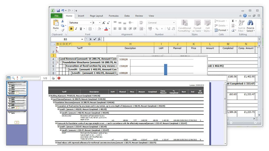 Printing Reports and management | PriMus KRONO | ACCA software