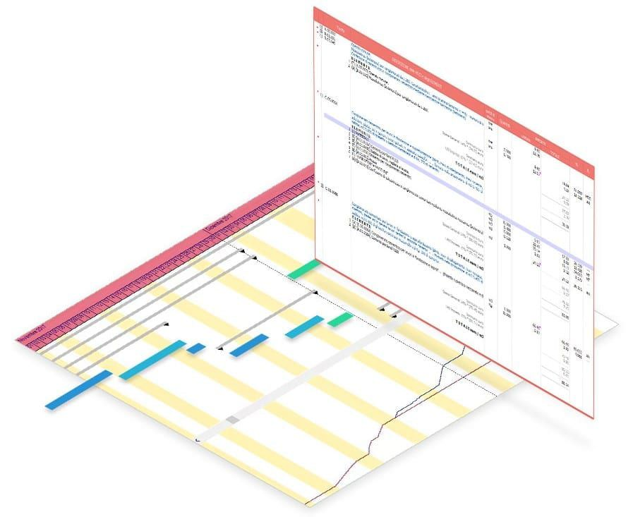 Rate Analysis work sections | PriMus KRONO | ACCA software