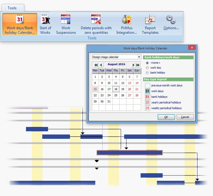 Time schedule and financial plan management | PriMus KRONO | ACCA software