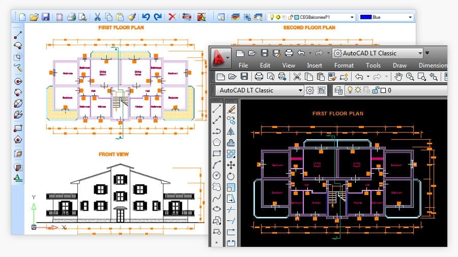 Draw and edit CAD   PriMus TAKEOFF   ACCA software