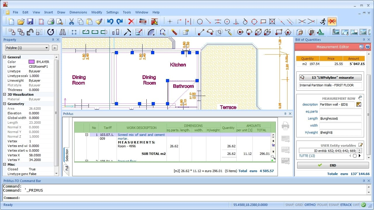Video Takeoff   PriMus TAKEOFF   ACCA software