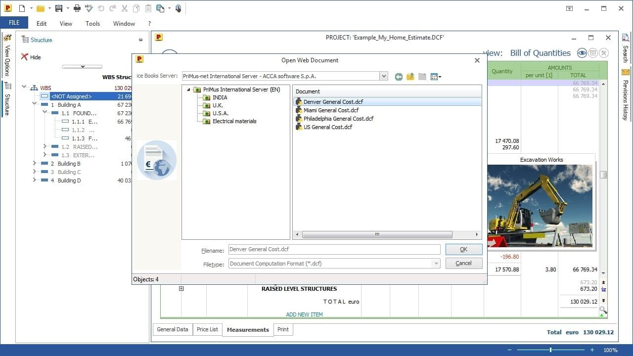 Video Importar de Excel base dados de Preços | PriMus | ACCA software