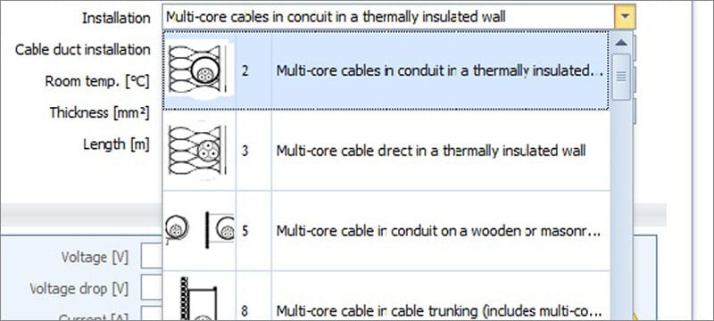 Dimensioning of photovoltaic system cables | Solarius PV | ACCA software