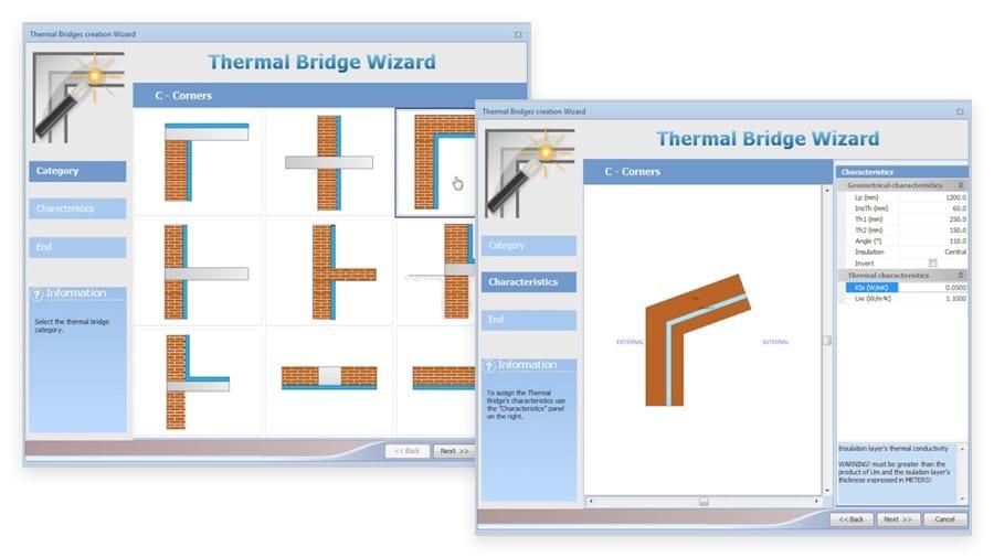 Dessin du Pont thermique | TerMus BRIDGE | ACCA software