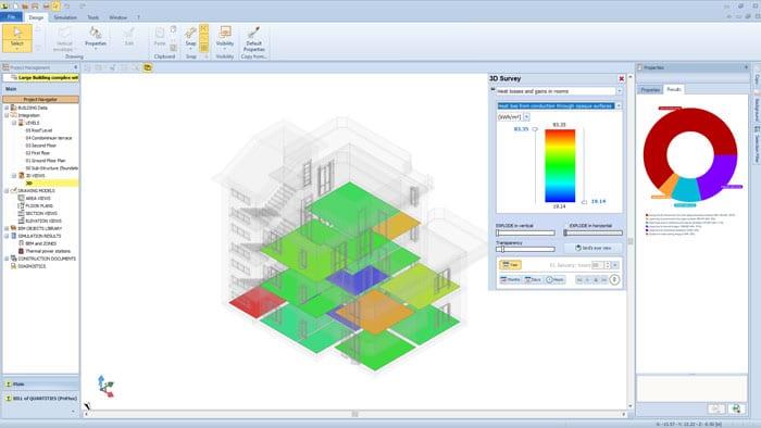 Video software Energieanalyse und dynamische Gebäudesimulation | TerMus PLUS | ACCA software