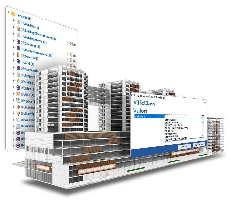 Gerenciamento de dados IFC do modelo BIM | usBIM.checker | ACCA software