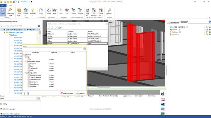 Vérification interférences et gestion conflits entre les différents modèles open BIM IFC | usBIM.clash | ACCA software