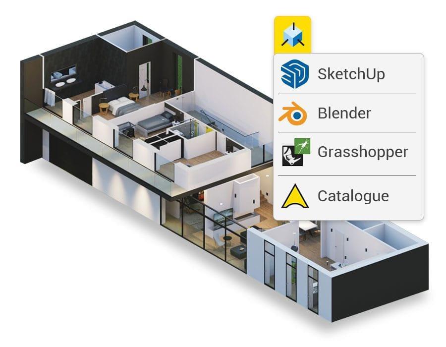 Benutzerdefinieren Sie Ihr Projekt mit neuen 3D-Objekten | usBIM.editor | ACCA Software