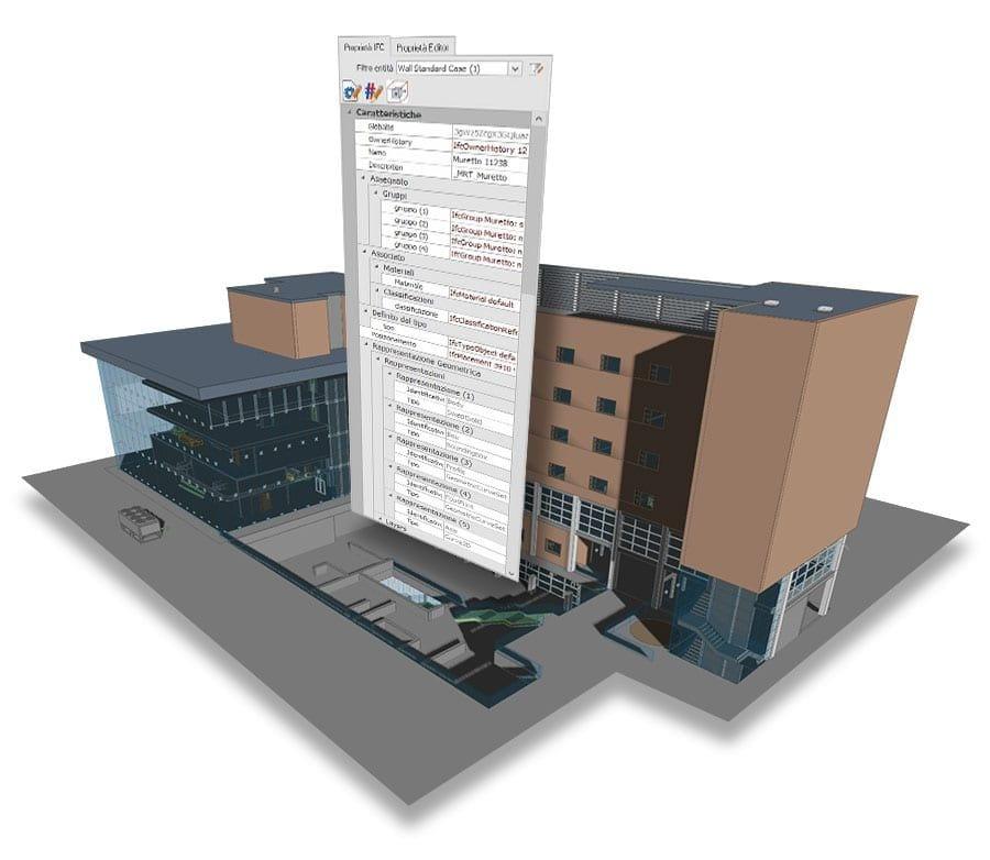 Editing der geometrischen Eigenschaften von BIM-Modellen | usBIM.editor | ACCA Software