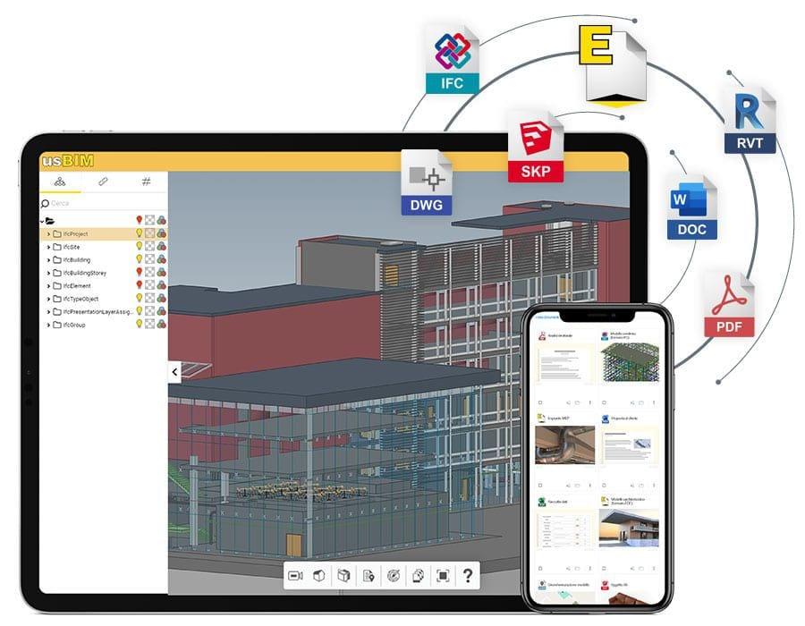 Sie optimieren und vervollständigen die Verwaltung Ihres IFC-Modells | usBIM.editor | ACCA Software