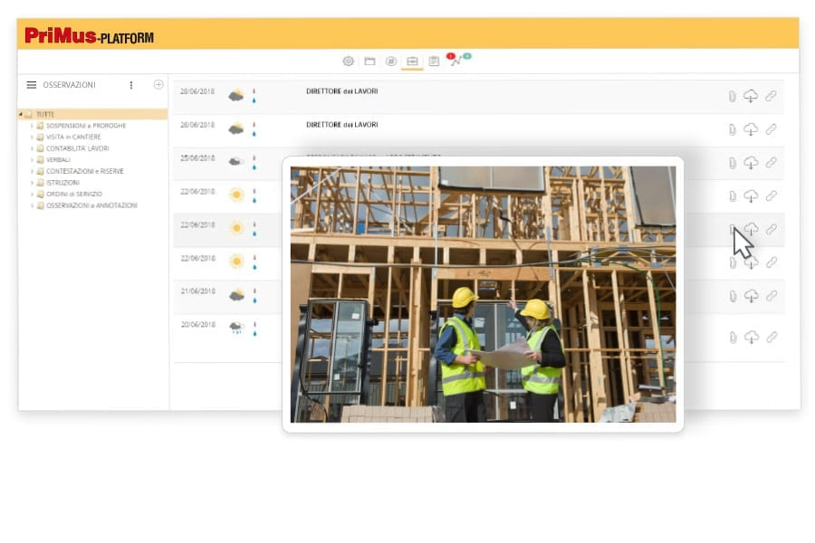 Construction Management | PriMus.platform | ACCA software