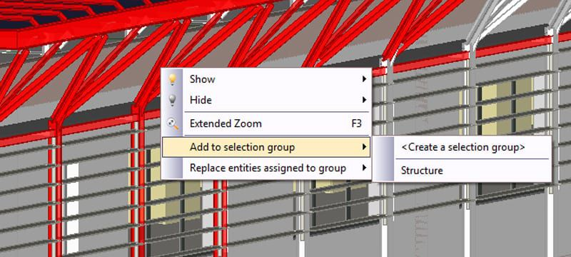 Create groups and selection filters | usBIM.viewer+ | ACCA software